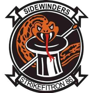US Navy VFA 86 Sidewinders Squadron Decal Sticker 3.8