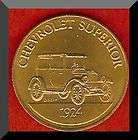 Franklin Mint Antique Car Token 1924 CHEVROLET SUPERIOR