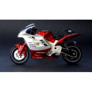 Scale R8 MotorBike Remote Control Electric Red Version Toys & Games