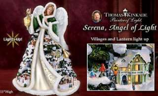 SERENA, ANGEL OF LIGHT CHRISTMAS VILLAGE ANGEL FREE S/H, NIB
