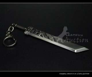 Final Fantasy VII Cloud Strifes Buster Sword keychain