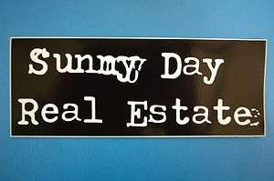 Sunny Day Real Estate Sticker (S276)