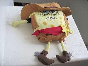 21 Giant Nickelodeon Spongebob Squarepants SHERIFF Plush Doll
