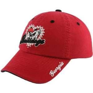 Top of the World Georgia Bulldogs Red Ladies True Love Adjustable Hat