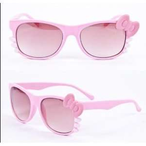 Hot Pink Hello Kitty Bow Tie Sunglasses Fashion must have