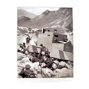 WORLD WAR BRIISH NAVAL MEN ARMOURED CARS CAUCASUS Home & Kichen