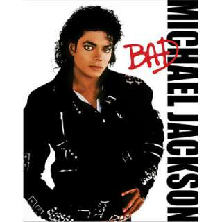 MICHAEL JACKSON Bad Album Cover POSTER King of Pop RIP