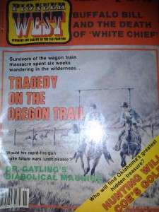 VINTAGE LOT Pioneer West MAGAZINES   Native American Cowboys and