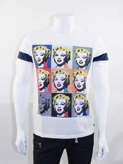ANDY WARHOL Pepe Jeans Marilyn Monroe Printed T Shirt