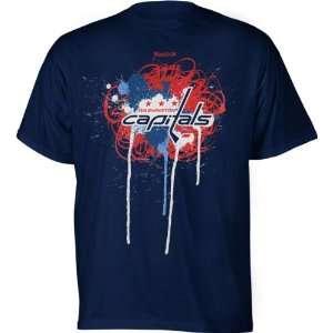 Washington Capitals Youth Team Fresh Logo T Shirt