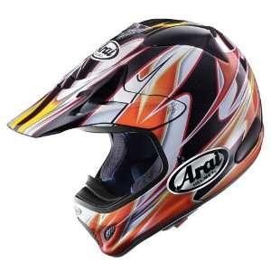 VX Pro 3 Motorcycle Helmet, Akira Narita Orange, XS