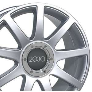 RS4 Style Wheel Fits Audi   Silver 18x8: Automotive