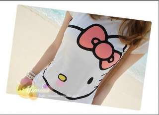 Style NEW Girls hellokitty T Shirt womens TOP short shirts sleeve