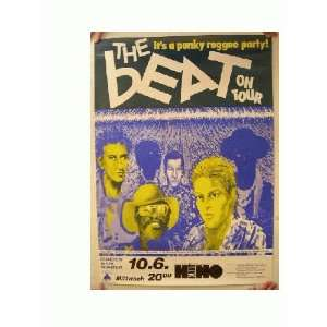 The English Beat German Concert Tour Poster Everything