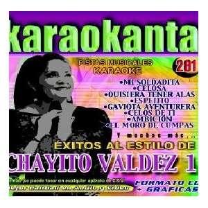 Karaokanta KAR 4281   Al Estilo de Chayito Valdez   I