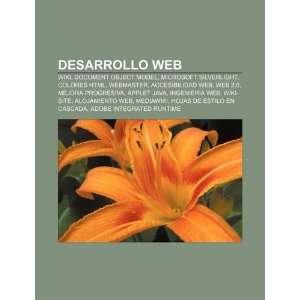 : Desarrollo web: Wiki, Document Object Model, Microsoft Silverlight