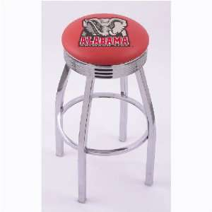 Alabama Crimson Tide 30 Single ring Swivel Bar Stool with