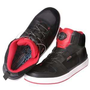AXO Black/Red Size 12 5to9 Motorcycle Shoes Automotive