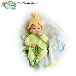 So Truly Real Baby Doll Dressed in Disney Tinker Bell