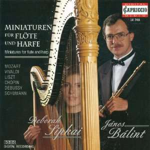 Flöte und Harfe: Fritz Kreisler, Antonio Vivaldi, Francois Joseph