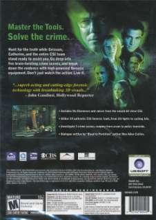 CSI Original Crime Scene Investigation PC Game DVD NEW 008888651017