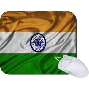 Rikki Knight India Flag Mouse Pad Mousepad   Ideal Gift