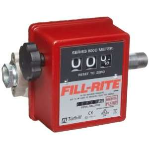 Fill Rite 807CMK 807C Meter With Pipe Fittings  Industrial