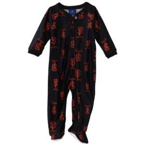 MLB Infant San Francisco Giants Full Zip Raglan Coverall