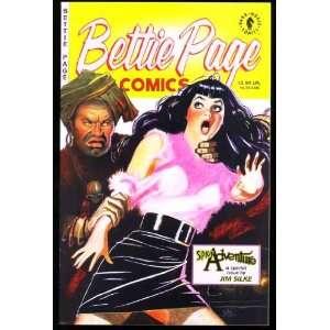 Bettie (Betty) Page Comics Spicy Adventure (January 1997
