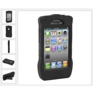 Apple iPhone 4 Kraken II Series Impact Resistant Case   Black   TRI