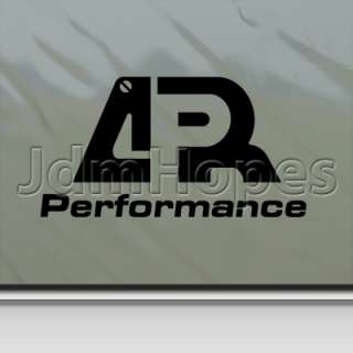 APR Performance Decal Car Truck Bumper Window Sticker