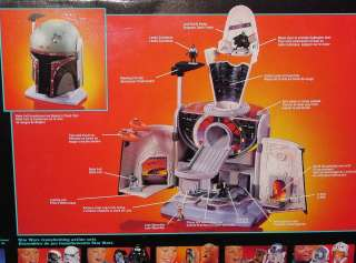STAR WARS MICRO MACHINES BOBA FETT/CLOUD CITY TRANSFORMING SET CANADA