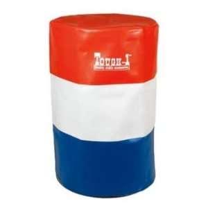 Tough 1 Barrel Cover Set Red/White/Blue