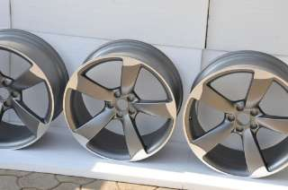 OEM NEW Audi RS5, S5, A5 Rotor wheels 9Jx20 ET26 Titan look fit to RS6