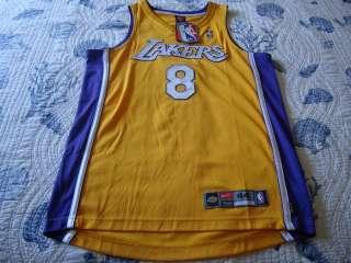 Lakers Kobe Bryant 8 24 Nike Jersey Sz 44 New Authentic