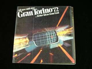 1971 Ford Gran Torino Wagon Squire Brougham Brochure