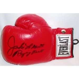 Jake LaMotta Signed Everlast Boxing Glove w/Raging Bull