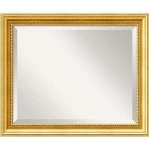 Townhouse Gold Wall Mirror   Medium Framed