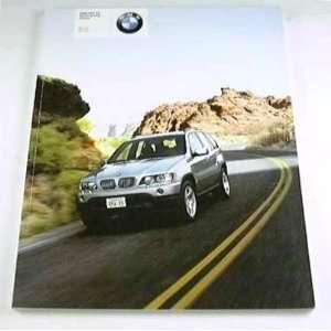 2001 01 BMW X5 Sports Truck SUV BROCHURE 3.0i 4.4i