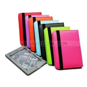 Leather Pouch Case Cover for  Kindle Touch Full Cover