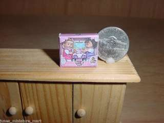 Dollhouse Miniature Girls Toy Baby Dolls Box NEW MINI