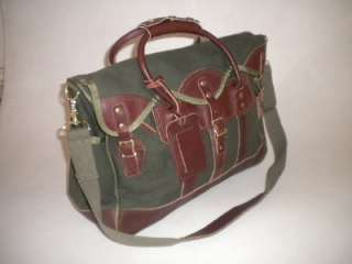 Quality Battenkill & Leather Shoulder & Duffle Bag Travel Luggage Set
