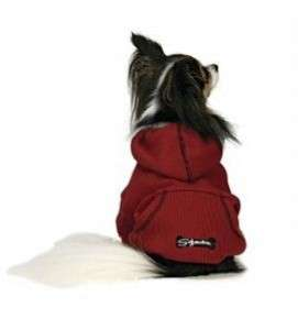 Fashion Pet Sporty Thermal Fabric Dog Hoodie SM Red