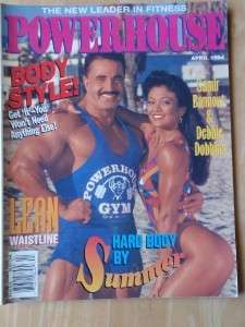 POWERHOUSE bodybuilding muscle mag/Samir Bannout 4 94