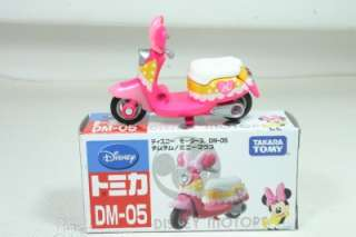Tomy Tomica Disney Motors Bike Minnie Mouse #DM05