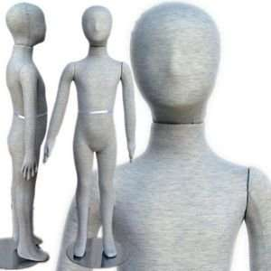 Pinable & Bendable Child Mannequin with Head 3 9 Arts
