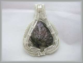 Super Seven Crystal, Silver Wire Wrap Jewelry!