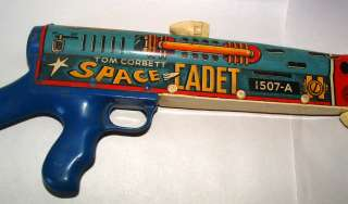 1950s MARX TOM CORBETT SPACE CADET OFFICIAL SPACE GUN
