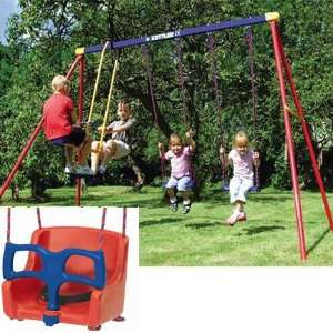 8382 790B Multi Play Swing set with Baby Swing Seat Toys & Games