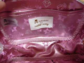 TOKIDOKI HELLO KITTY Sanrio COSMETIC POUCH Pink L@@K